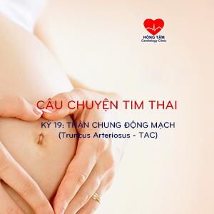 CÂU CHUYỆN TIM THAI | KỲ 19: THÂN CHUNG ĐỘNG MẠCH (Truncus Arteriosus – TAC)